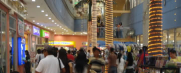 Typical day at the Cotabato South Seas Mall