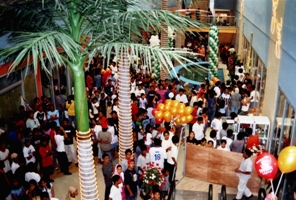 Grand Opening of South Seas Mall - Lobby View